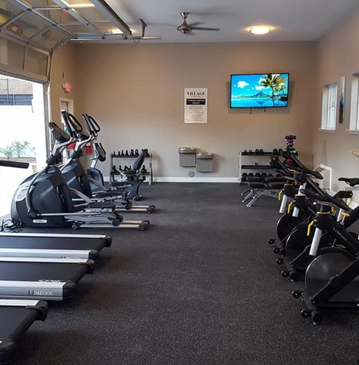 excellent fitness inside The Village at Grants Mill